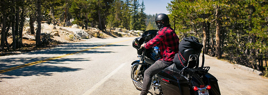 Rapid climate changes on a motorcycle ride