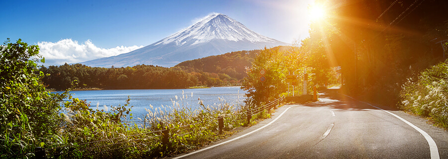 Motorcycle riding in Japan - rentals and tours