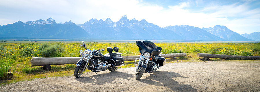 Grand Teton National Park motorcycle trip