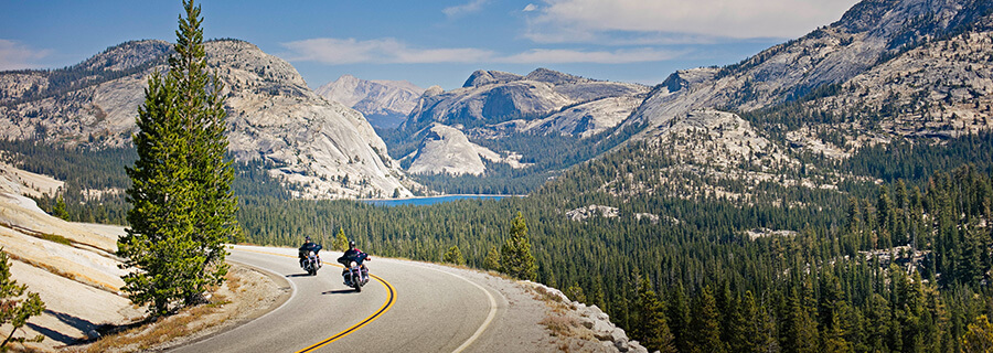 Yosemite motorcycle ride